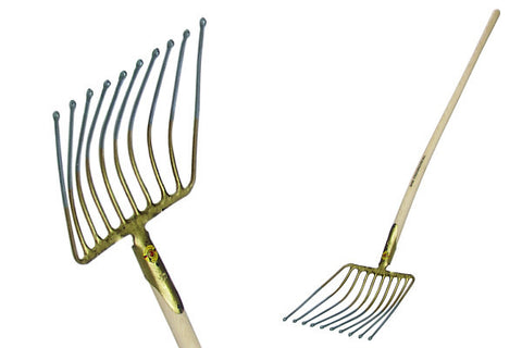 "Heavy Duty Gravel/Chip Fork 4.4lbs - 14""x 10"" with 51"" Ash Handle"