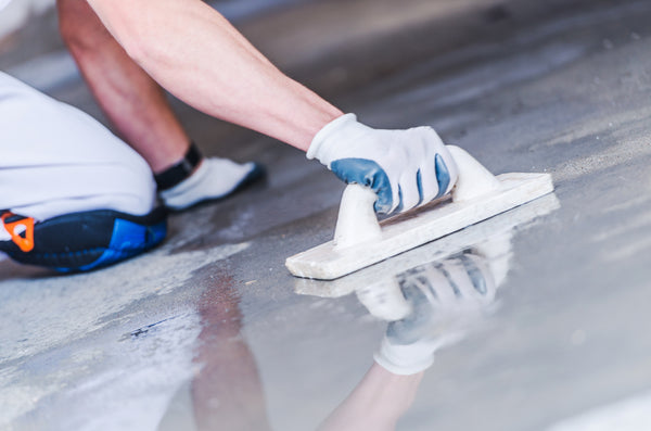 sealing concrete flooring