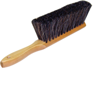 "DQB 08802 8"" HORSEHAIR DUSTING BRUSH"