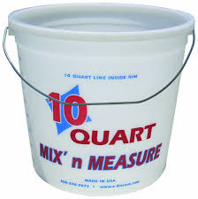 ENCORE 20325 10 Quart CLEARVUE RINGFREE PAIL WITH GRADUATIONS