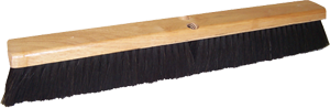 "DQB 24"" Horsehair Push Broom"