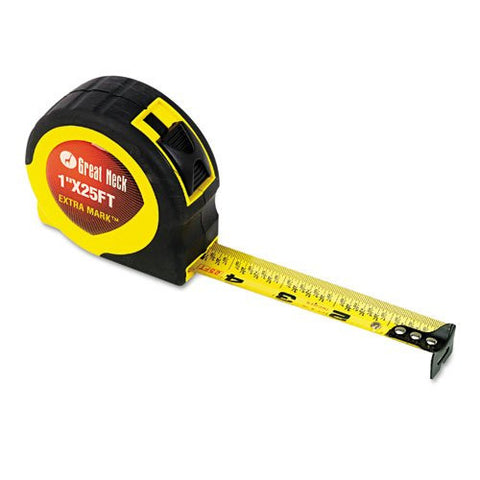 Great Neck 25' Extramark Tape Measure