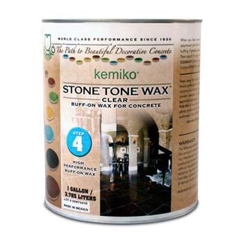 Stone Tone Wax II (Buff On Wax- Solvent Based)