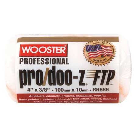 Wooster RR666 4 in. Pro Doo-Z Ftp 3/8 nap Roller Cover