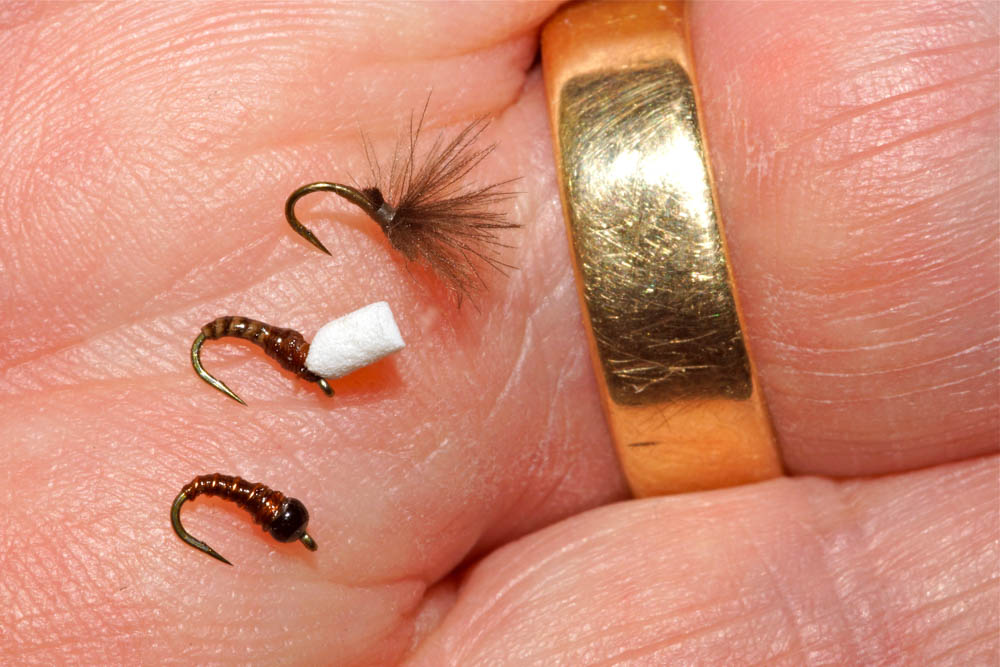David Southall blog - Chironomids, squirmies and micro thin fly lines