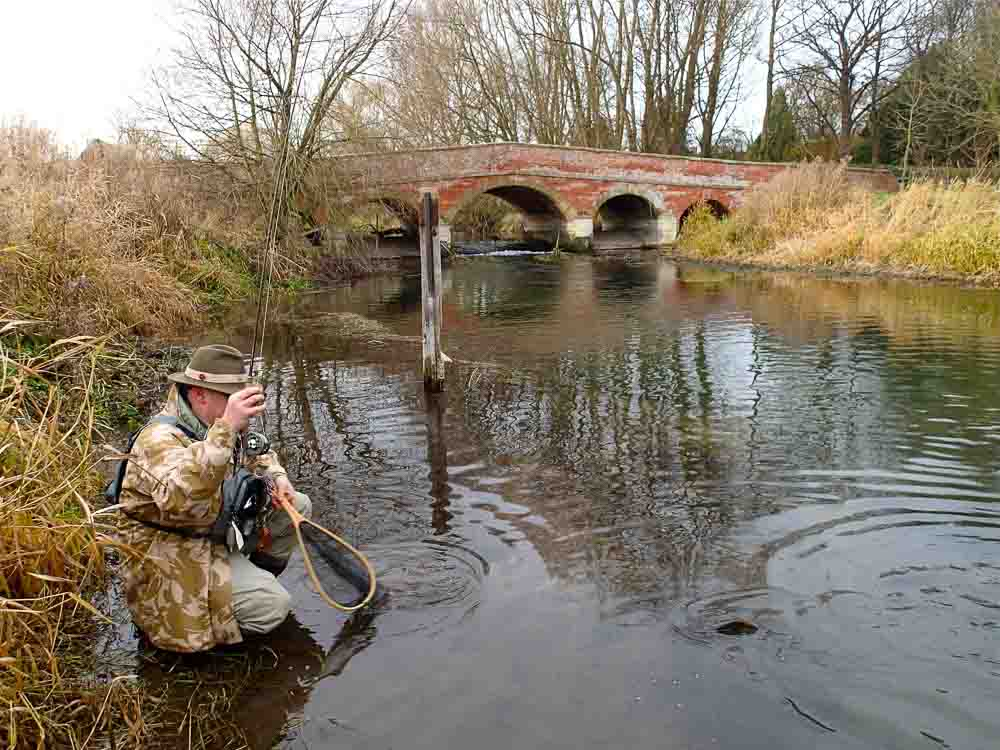 Fishing for Grayling