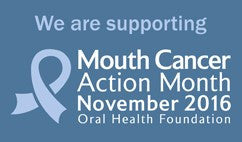 Be Mouthaware for Mouth Cancer Action Month
