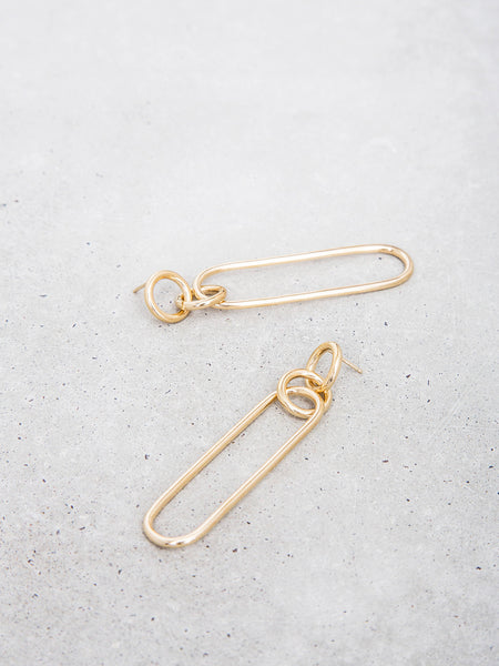 Long Link Earrings