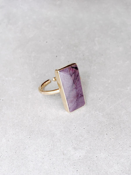 Minimal Deep Purple Ring