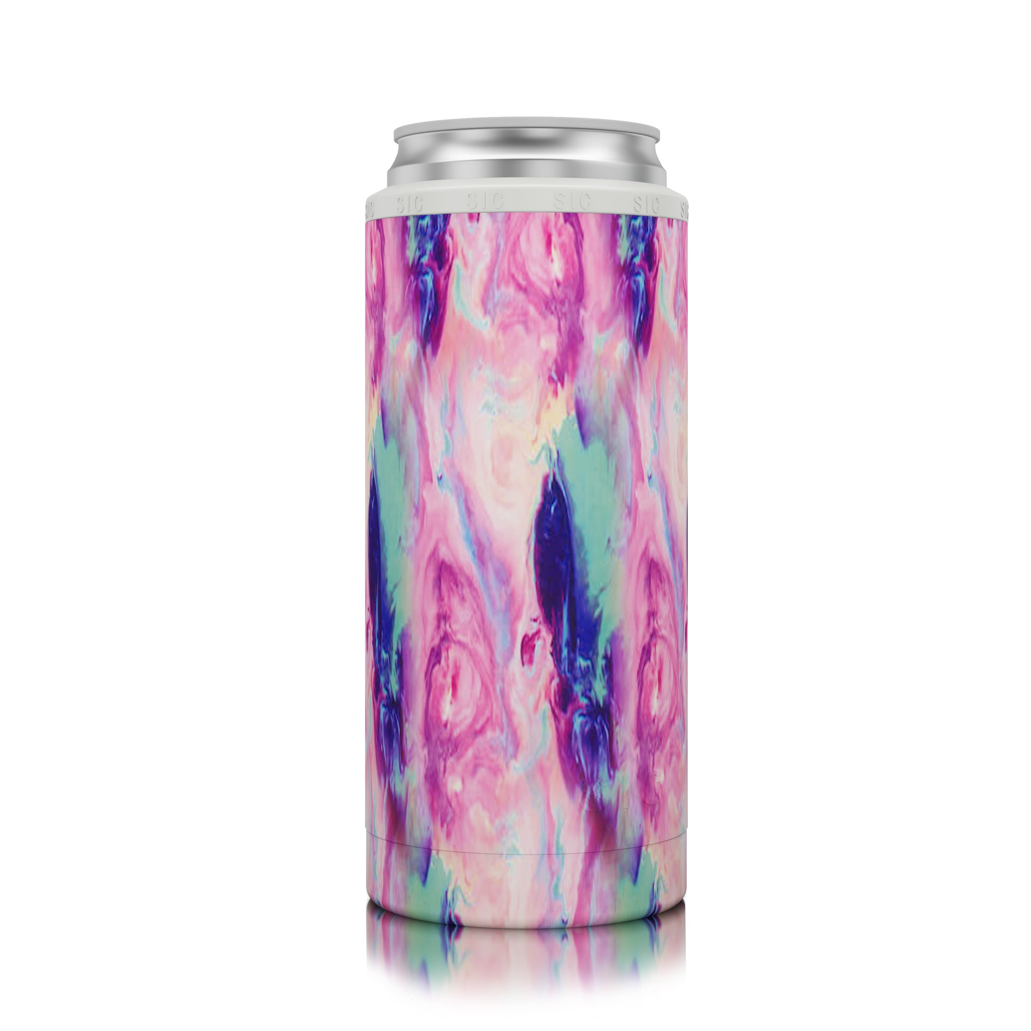 SIC Slim Can Cooler Cotton Candy
