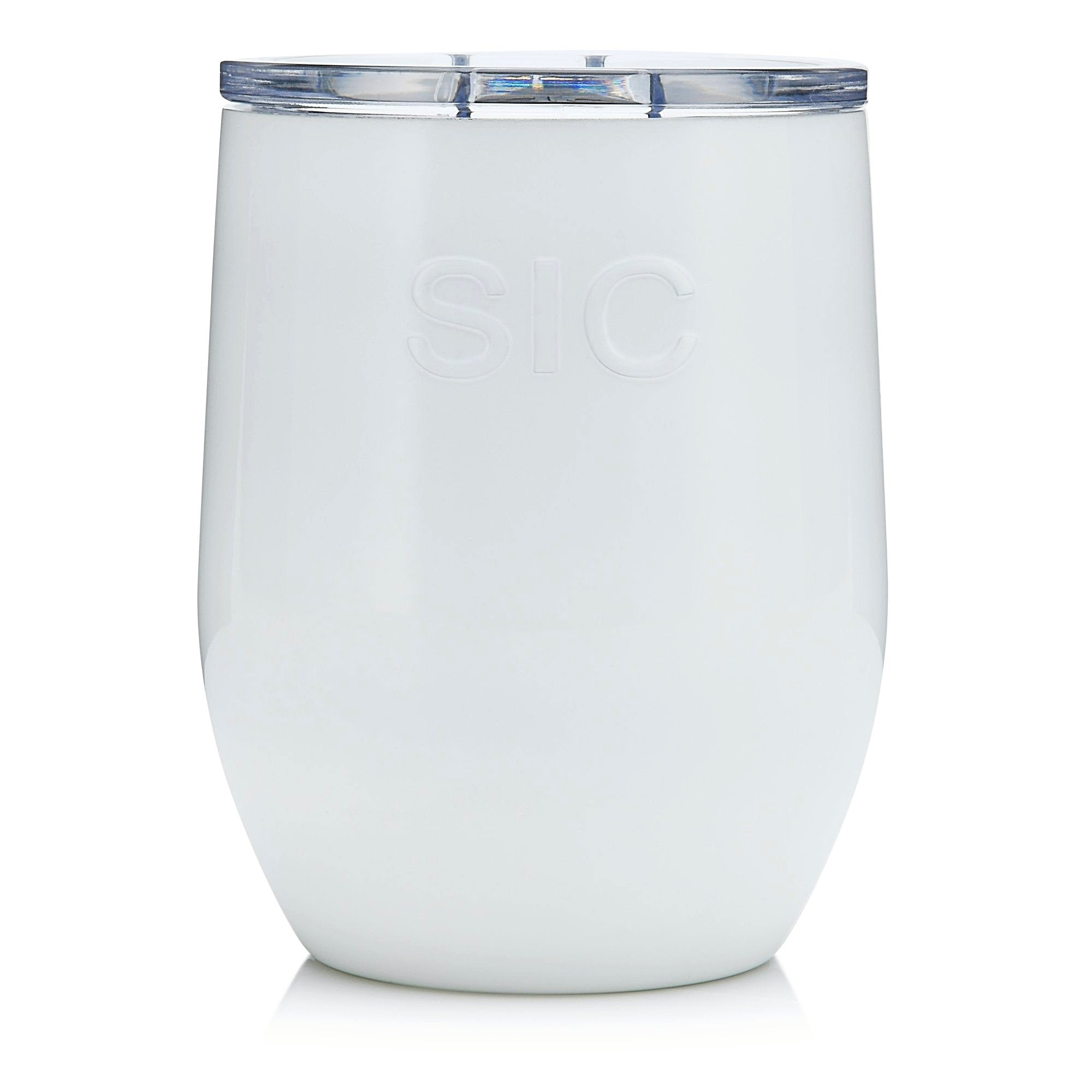 16 oz. Ice White Stemless (12 Pack)