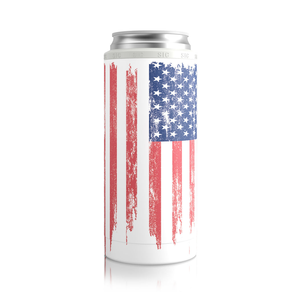 American Flag (Slim Can 12 pack)