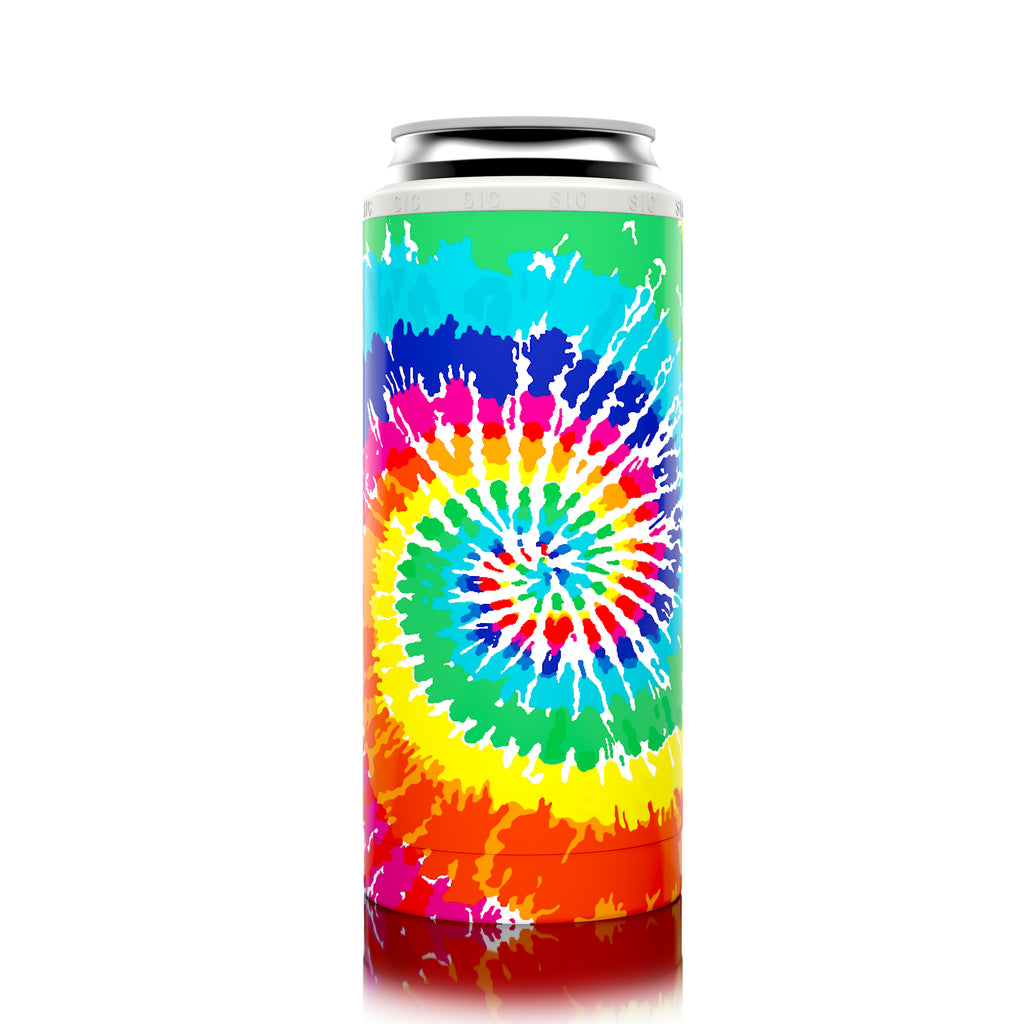 SIC Slim Can Cooler Tie Dye (12 Pack)