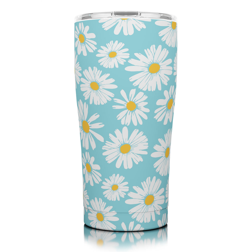20 oz. Blue Daisies (12 Pack)