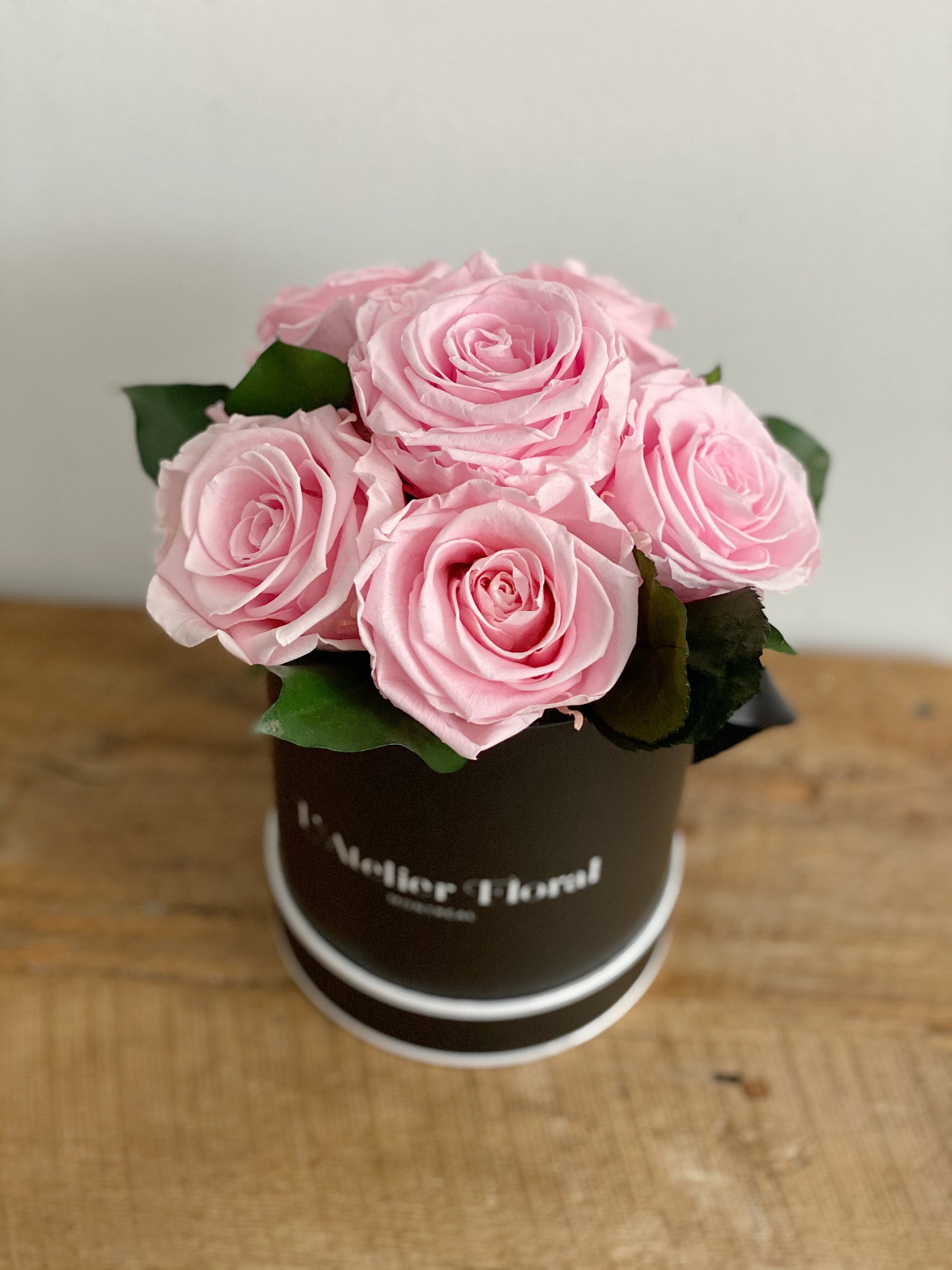 Mini Bouquet of Eternal Roses in Pink