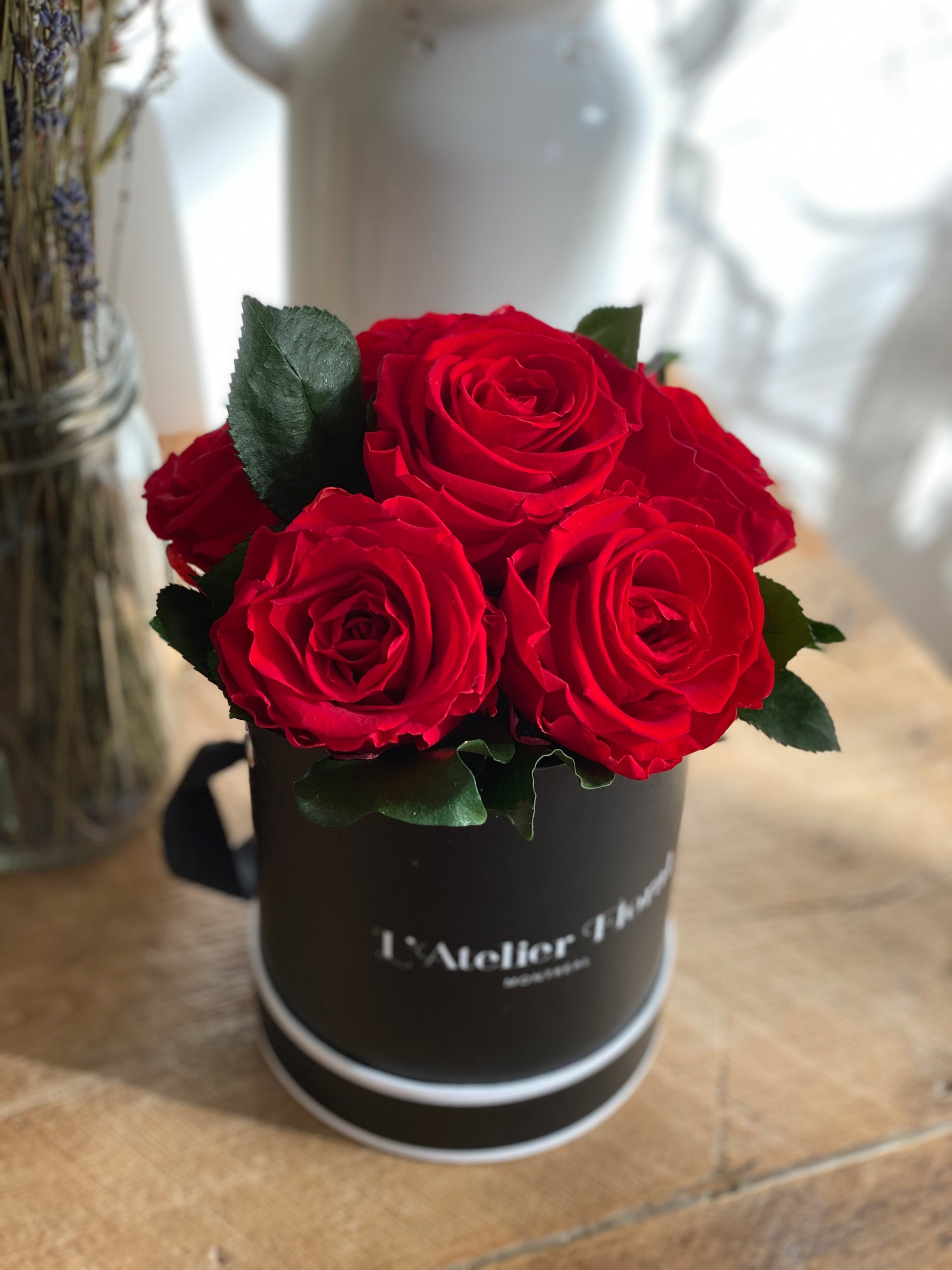 Mini Bouquet of Eternal Roses in Red