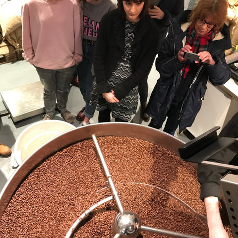 Dear Green Roastery Tour