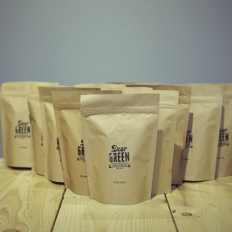 TWELVE TIME SUBSCRIPTION. speciality coffee. dear green