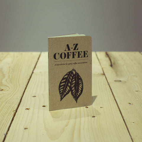 Kaffikaze A-Z coffee book gift