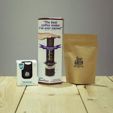 speciality coffee bundle aeropress