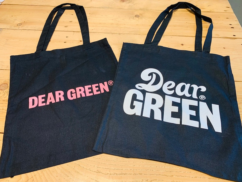 New Dear Green Tote Bag