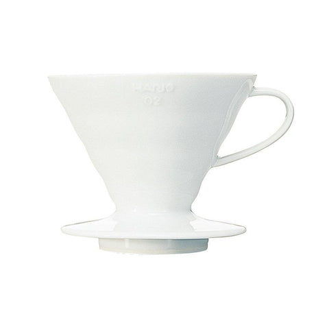 HARIO - V60 - 02 - White Ceramic Dripper