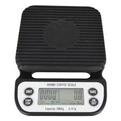 Rhino Coffee Brewing Scale 3kg/0.1g