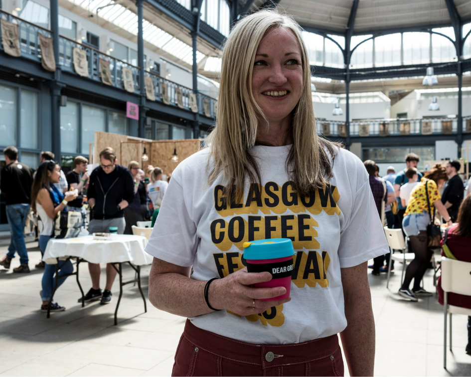 Glasgow Coffee Festival 2018 tshirt - limited edition!