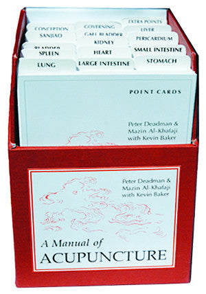 Cover image for Acupuncture Point Cards (2nd Edition)