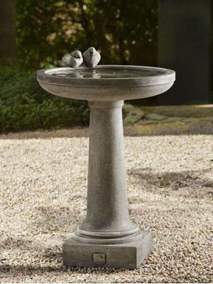 Campania International Juliet Birdbath
