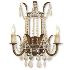 Currey and Company Laureate Wall Sconce - Life onPlum