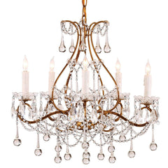 Currey and Company Paramour Chandelier - Life onPlum