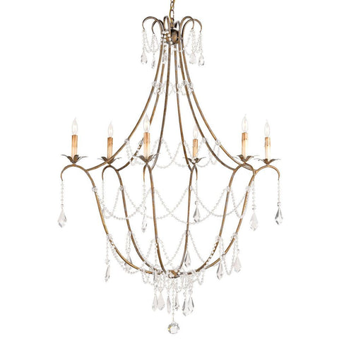 Currey and Company Elizabeth Chandelier - Life onPlum