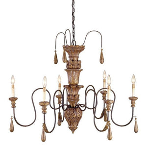 Currey and Company Mansion Small Chandelier - Life onPlum