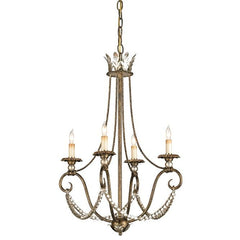 Currey and Company Anise Chandelier-Life on Plum by Currey and Company