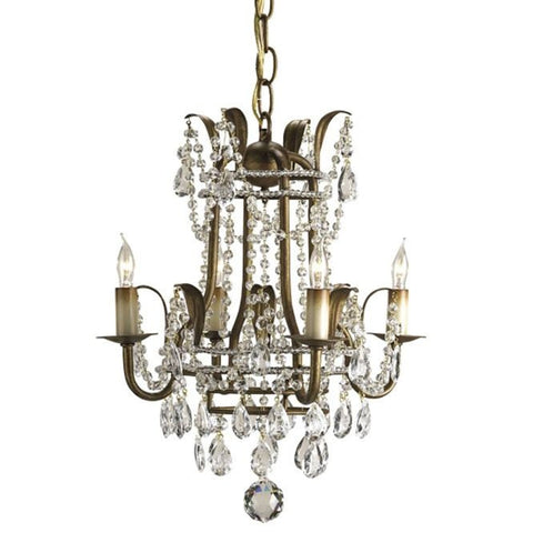 Currey and Company Laureate Small Chandelier - Life onPlum