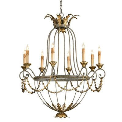 Currey and Company Elegance Chandelier - Life onPlum