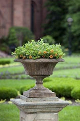 Campania International Smithsonian Fluted Valentine Urn The Garden Gates