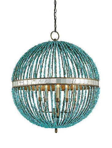Currey and Company Alberto Orb Chandelier - Life onPlum