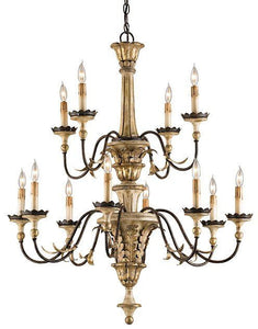 Currey and Company Adara Chandelier - Life onPlum