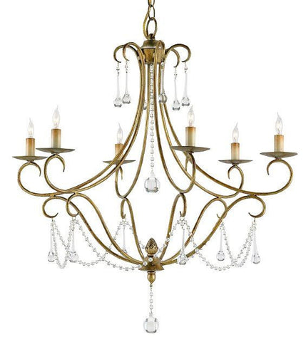 Currey and Company Agostina Chandelier - Life onPlum
