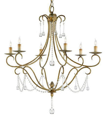 Currey and Company Agostina Chandelier-Life on Plum by Currey and Company