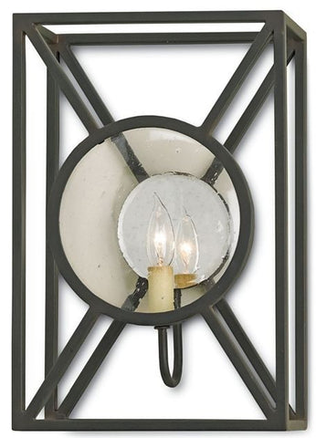 Currey and Company Beckmore Wall Sconce-Life on Plum by Currey and Company