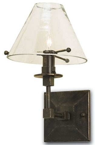 Currey and Company Kiran Wall Sconce Right - Life onPlum