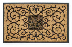 Personalized Coir Doormat with Monogram - Life onPlum
