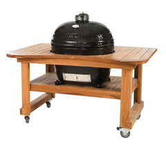 XL Oval Grill and Teak Table by Primo Grills - Life onPlum