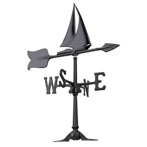 Whitehall Products 24-inch Sailboat Accent Weathervane