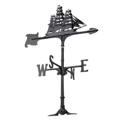Image of Whitehall Products 30-inch Clipper Accent Weathervane