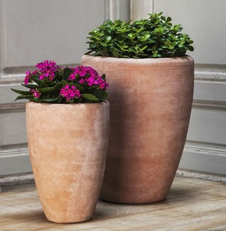 Campania International Abrielle Planter Set of Two in Terra Nova - Life onPlum