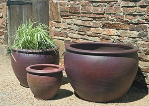 Campania International Tron Cao Pot Planter - Set of 3 - Life onPlum